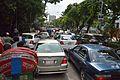 Traffic Jam - Road 2 - Dhanmondi - Dhaka 2015-05-31 1919.JPG