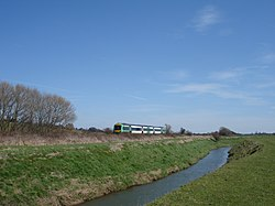 Train and River Brede East Sussex - geograph.org.uk - 154907.jpg