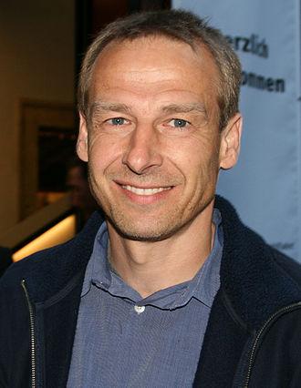 1994–95 FA Premier League - Tottenham's Jürgen Klinsmann was the inaugural Player of the Month.