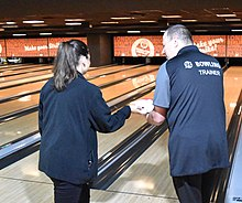 Trainer im Bowlingsport
