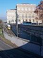 Tram 1347, Chain Bridge tram tunnel, 2021 Lipótváros.jpg