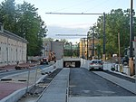 Tram track construction between Ülemiste and Tallinn Airport 004.JPG