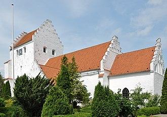 Tranebjerg - Image: Tranebjerg Kirke (Samsø Kommune)