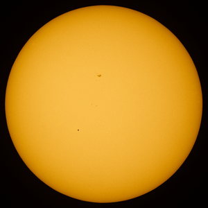 Transit of Mercury - Transit of Mercury on May 9, 2016