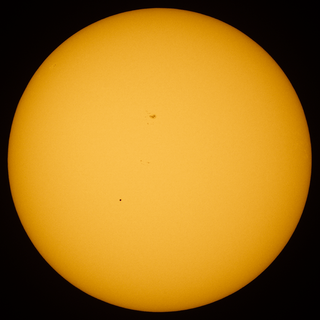 Transit of Mercury a transit of Mercury across the Sun