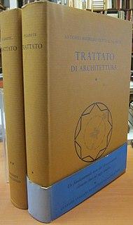 <i>Trattato di architettura</i> architectural theoretical book by Filarete