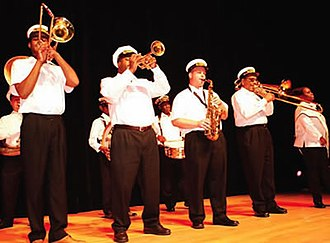 Treme Brass Band - The Treme Brass Band opened the 2006 National Endowment for the Arts' National Heritage Fellows concert.