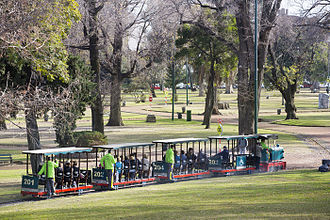 Avellaneda Park - Avellaneda Park Historic Train.