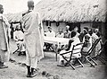 Tribe chief administering justice, Belgian Congo.jpg
