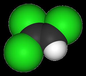 Trichloroethylene - Image: Trichloroethylene 3D vd W