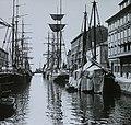Trieste 1910, Canal Grande. - Fortepan 95045.jpg