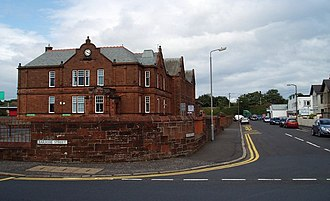 Troon - Troon Primary School, with adjacent Early Years Centre, located in Troon Town Centre