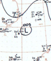Tropical Storm Viola analysis 9 Apr 1961.png