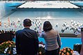 Tsai Ing-wen and Ko Wen-je on 2017 Summer Universiade (2).jpg