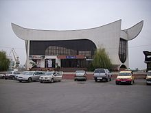 link=//commons.wikimedia.org/wiki/Category:Tulcea train station