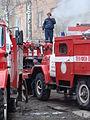 Tushenie podvala Naberezhnaya 54a, Koryazhma 8.04.2010 (29).JPG
