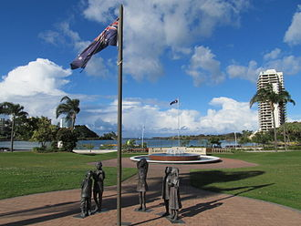 Tweed Heads, New South Wales - War memorial in Chris Cunningham Park