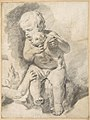 Two Boys with a Puppy MET DP801044.jpg