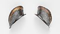 Two Ear Guards from a Shaffron (Horse's Head Defense) of Emperor Charles V (1500–1558) MET DP108821.jpg