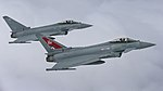 Two Typhoon FGR4 aircraft, flown by 29 (R) Squadron from RAF Coningsby MOD 45164134.jpg