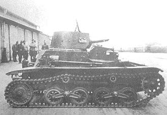 Type 94 tankette - Late model Type 94 tankette