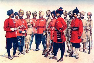 84th Punjabis - Image: Types of Punjab Regiments. AC Lovett 1910