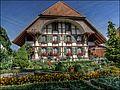 Typical farmhouse in Büren a.d. Aare, Switzerland - panoramio.jpg