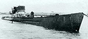 U-530 after surrender at Mar del Plata Naval Base