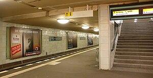 Moritzplatz (Berlin U-Bahn) - Moritzplatz U-Bahn station