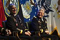 U.S. Army Gen. David M. Rodriguez, left, the incoming commander of U.S. Africa Command, and Gen. Carter F. Ham, the outgoing commander, attend a change of command ceremony in Stuttgart, Germany, April 5, 2013 130405-D-VO565-009.jpg