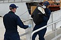 U.S. Coast Guardsmen assigned to the medium endurance cutter USCGC Legare (WMEC 912) unload bales on cocaine seized as part of Operation Martillo at Coast Guard Base Miami Beach, Fla., Sept 140904-G-ZK759-042.jpg