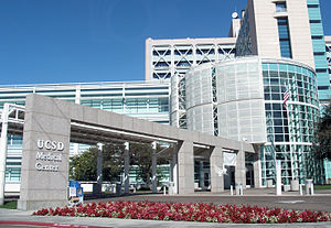 UC San Diego Medical Center, Hillcrest - UC San Diego Medical Center, Hillcrest entrance