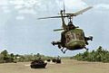 UH-1E of HAL-3 escorting PBRs in Vietnam c1968.jpg
