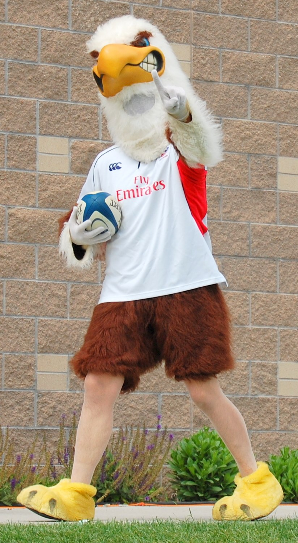 USA Eagles Mascot Churchill Cup 2010