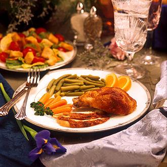 Dinner - Image: USDA dinner cropped