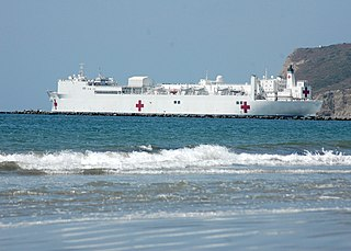 USNS <i>Mercy</i> (T-AH-19) Hospital ship of the United States Navy