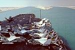 USS America (CV-66) entering Suez Canal in 1981.JPEG