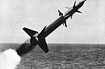 USS Boston (CAG-1) launches a SAM-N-7 Terrier missile, circa in 1960.jpg