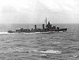 USS Duncan (DD-485) underway in the South Pacific on 7 October 1942 (NH 90495).jpg