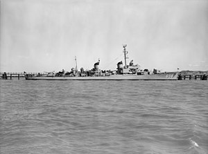 USS Fred T. Berry (DD-858) off the Mare Island Naval Shipyard on 29 April 1949 (24744945)