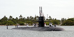 Image illustrative de l'article USS Key West (SSN-722)