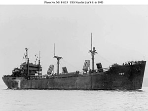 USS Nicollet (AVS-6) - Image: USS Nicollet (AVS 6)