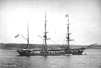 USS Ossipee (1861) - USS Ossipee (1861)