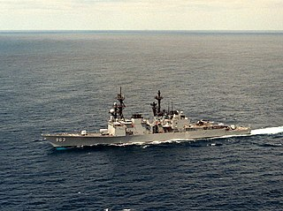 <i>Spruance</i>-class destroyer Destroyer class of the US Navy