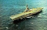 USS Wasp (CVS-18) in the Atlantic 1970
