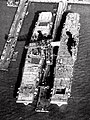 USS Yorktown (CV-5) and USS Enteprise (CV-6) fitting out at Newport News Shipbuilding, 8 February 1937.jpg
