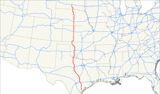 U.S. Route 183 highway in the United States