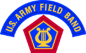United States Army Field Band - U.S. Army Field Band Shoulder Sleeve Insignia