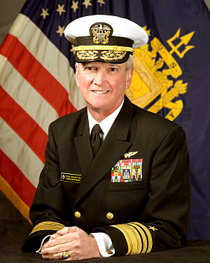 Richard J. Naughton - Rear Admiral Naughton