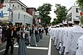US Navy 090516-N-8145S-002 Sailors from the guided-missile destroyer USS McCampbell (DDG 85) march in the Black Ship Festival Parade in Shimoda, Japan.jpg